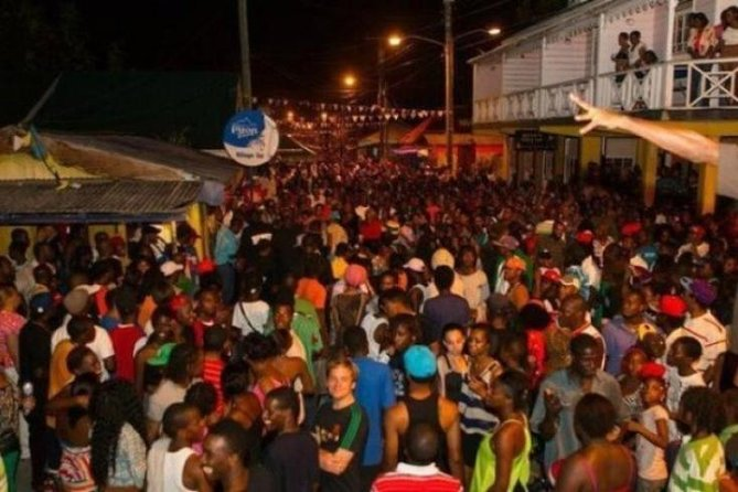 This is a world-famous street party where guests and locals eat, drink and dance into the night! Music from St. Lucia and around the Caribbean fill the air while the taste of sumptuous grilled and barbecued chicken, fish, lambi are sure to please!
