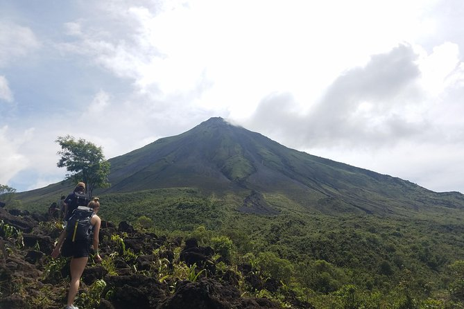 A full day combo tour leaving you feeling accomplished and awakened by nature! Featuring the Arenal Volcano hike, swimming in a lake created for lava rivers 525 years ago, followed by a leisurely Cerro Chato Volcano hike, a nature walk filled with all typ