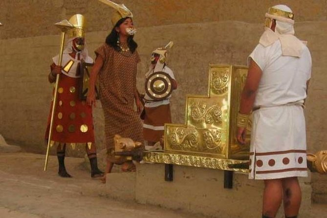 """It gives you an insight on the History of the Lady of Cao """"EL BRUJO"""" one of the most interesting archeological sites on the North of Peru"""