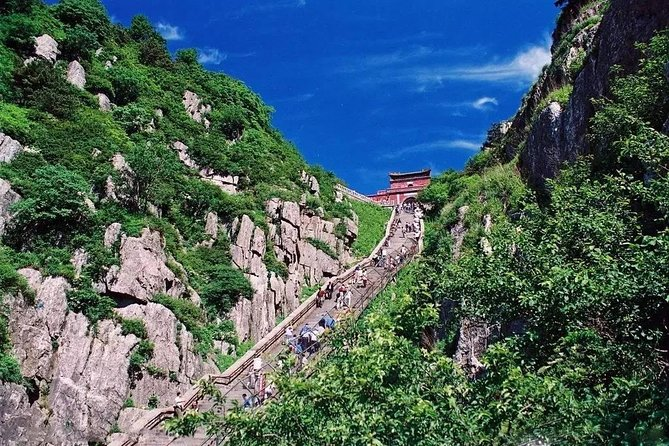 Mount Tai Private Day Trip from Nanjing by Bullet Train with Cable Car Ride, Nanjing, CHINA