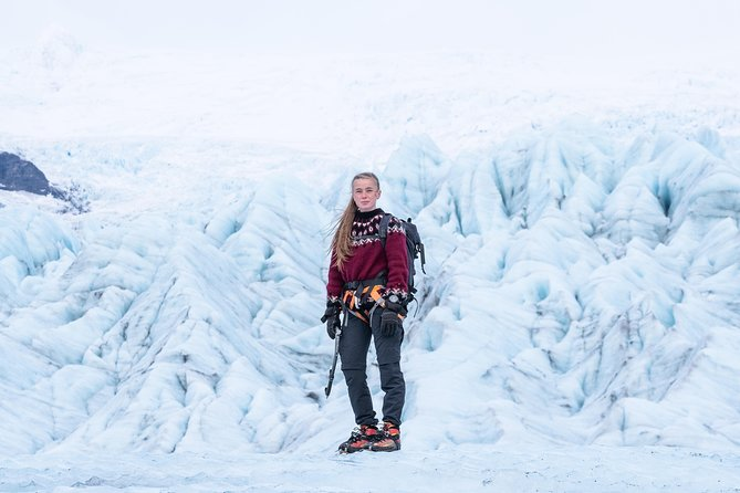 Spending five hours on the ice means we can search for new ice caves, focus on photography, try ice climbing, access and hike though exciting terrain with the support of ropes for safety, chat in depth about Vatnajökull national park and its wonders, and much more!