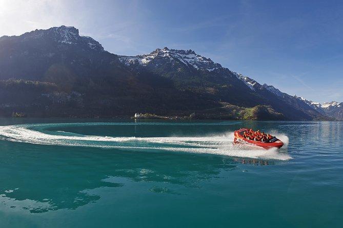 Jetboat Scenic Ride in Interlaken, Interlaken, SUIZA