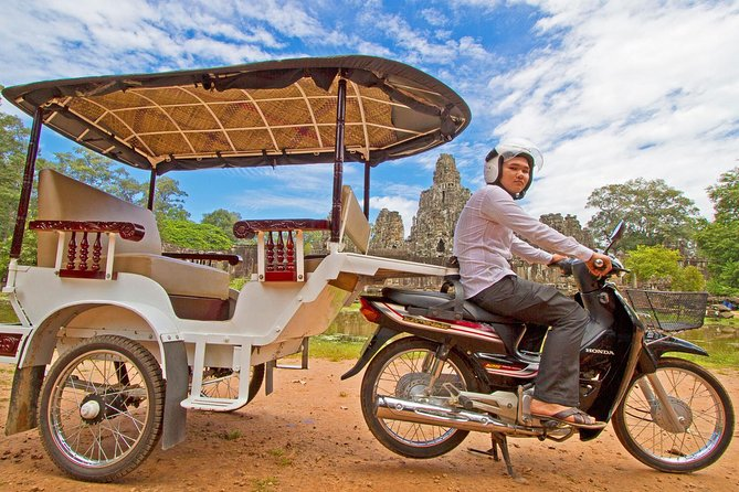 See the Angkor National Park (World Heritage Site) in a Tuk Tuk. You will visit the park including Angkor Wat, the 7th wonders of the world and it is the world largest religious monument and following by the 200 endless smiling faces from Bayon temple in Angkor Thom, one of the biggest Baddish temple which was built at the end of 12th century and then visit the Jungle temple of Taprohm.