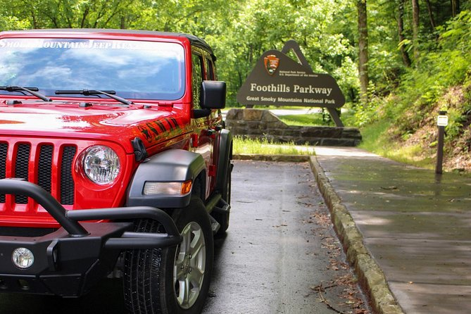 During your rental you will pick the Jeep up at 10:30a.m. and return the Jeep 2 days later at 9:30a.m. We give you a self-guided tour through the Great Smoky Mountain National Park to see Foothills Parkway, the Missing Link, Rich Mountain Road, Cades Cove, Parson's Branch, Cataloochee Valley, Fontana Lake and Dam, plus much more. All Jeeps come with soft-tops and optional open-air door packages and seat up to 5 People!<br><br>We are the only Jeep Rental that features a self guided tour which includes off-pavement riding as well as open-air doors! Also checkout our expansive Smoky Mountain Jeep Outfitters store for souvenirs, Jeep Gear, Jeep Shirts and Hats, and more! 5 Star Rated Company on TripAdvisor for 4 years in a row, Certificate of Excellence!
