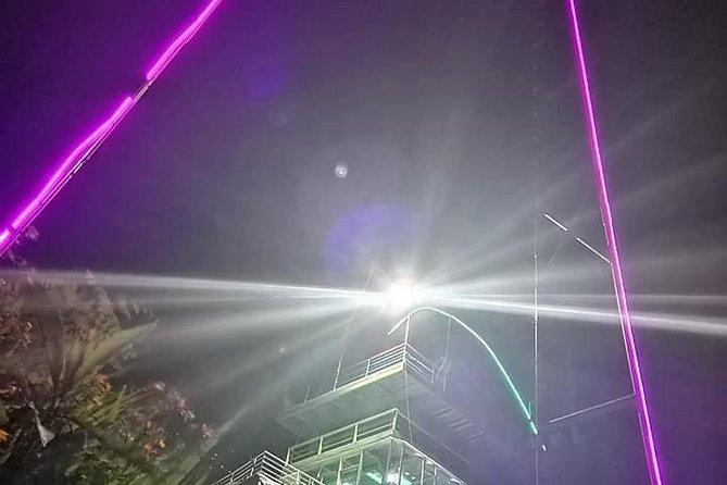COLUMPIO INCREIBLE CON VISTA A BAÑOS 50m. DE VUELO A 2400m. DE ALTURA MUY EXTREM, Baños, ECUADOR