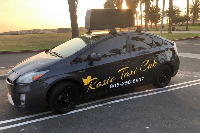 Rosie Taxi Cab Open 24/7 Has a decade of transportation experience short and long trips. We are highly reliable for booking transportation to LAX, BOB, SBA, and around Ventura's County. <br>Rosie Taxi Cab is Open 24/7 we take online reservations with online payments. We can assist you for any trip to Ventura's County and Airport pick up and drop off