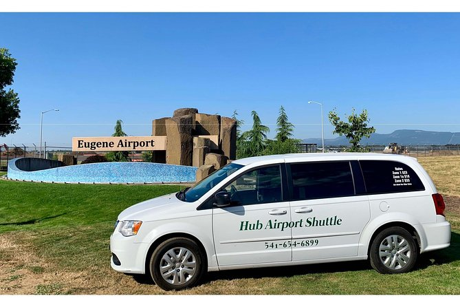 Hub Airport Shuttle provides you with a safe, comfortable and timely ride to and from the Eugene Airport to your home, office, or any other location. This is the most efficient mode of transportation to the Eugene Airport.<br>