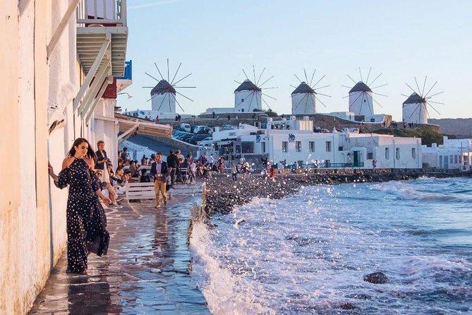 MÁS FOTOS, Excursion accesible: Paseo panorámico en Mykonos (4 personas + 2 sillas de ruedas)