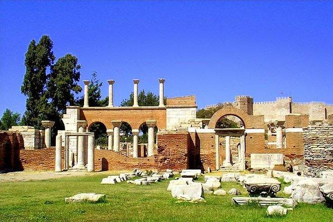Ancient Ephesus & Ephesus Museum & St. John's Basilica Tour from Kusadasi, Kusadasi, Turkey