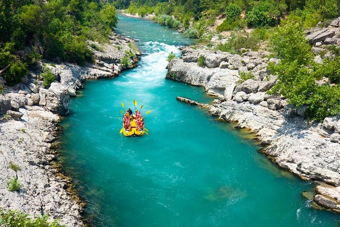 2-in-1 Canyoning and White Water Rafting Adventure with Lunch From Kemer, Kemer, Turkey