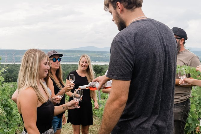 Wine Tasting on Ile d'Orleans, Quebec, CANADA