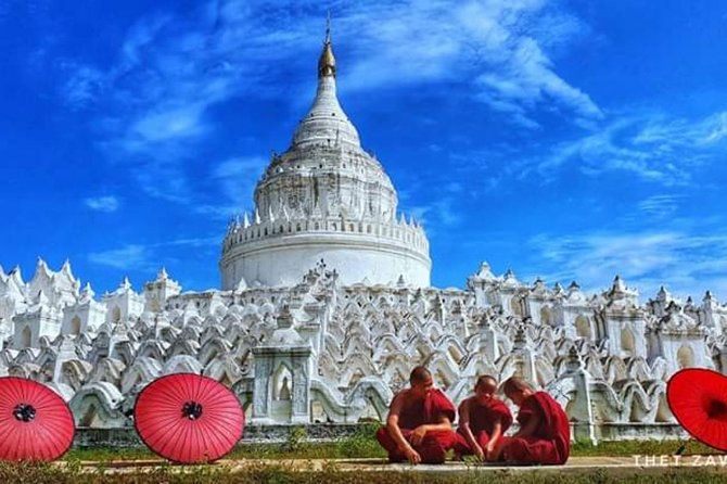 Driver will pick you up your hotel at 09:00AM.This is a day trip designed to visit Amarapura,Mingun,Sagaing and Innwa.These cities landmarks are very beautiful and interesting places.