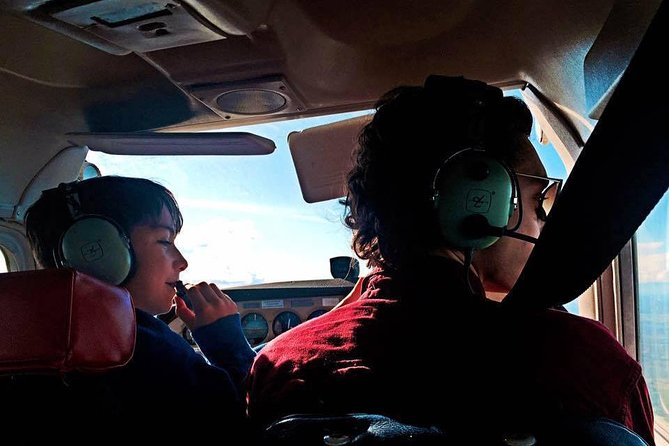 Every dream of being a pilot? Learn the basics of flight theory and how to pilot your airplane, and go up for an hour long flight lesson with your instructor. You will learn climbs, descents, and turns, and assist with landing and take-off!