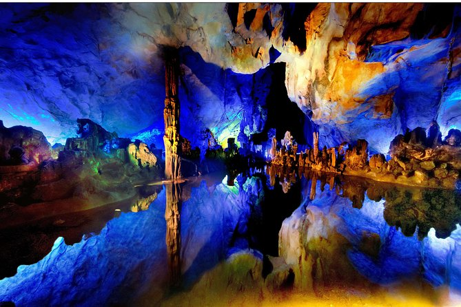 Guilin City Essence Day Tour: Reed Flute Cave, Elephant Trunk Hill and Fubo Hill, Guilin, CHINA