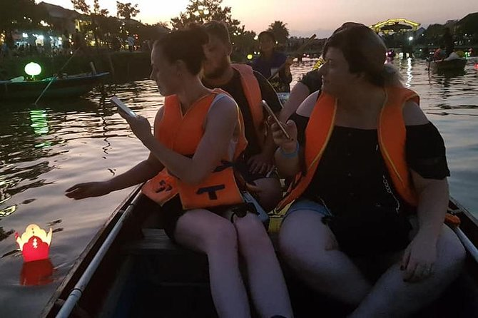 Hoi An Nightlife Tour with Hoi An Ancient Walking Tour, Boat Ride, Night Market, ,