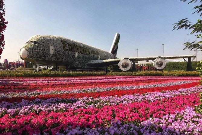 Dubai Miracle Garden Ticket With Transfer La Vacanza Travel