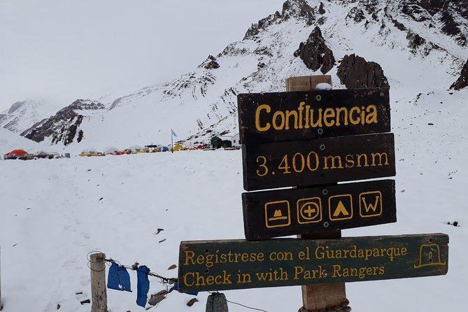 Aconcagua nearest base camp Confluencia, Mendoza, ARGENTINA