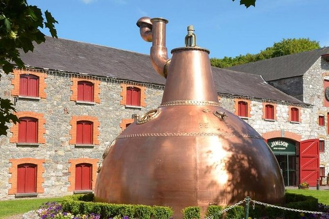 Every drop of Jameson is made here in Midleton so join us on this fascinating guided tour from your ship to Jamesons Distillery Experience. Bus Tour starts/finishes at your ship in Cobh/Cork<br><br>Our Tour Includes:<br> - Admission To The Jameson Distillery Experience<br> - Free Glass of Whiskey<br> - Expert Guides Throughout The Visit<br> - Shopping For Unique Gifts<br> - Free Time To Dine at The Distillery Restaurant<br><br>Our bus tour departs right from your ship in Cobh and returns back here again at the end of the tour.<br><br>We are based in Cobh right by the port and have over 50 years experience.<br><br>Our driver/guides are all locals and have lots of interesting facts, fascinating history, fun stories, songs and jokes.