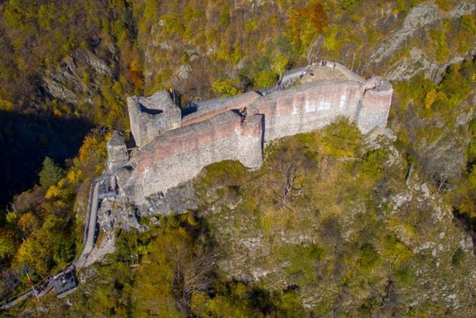 This is a privete tour which will take you to the real Castle of Vlad the Impaler (Dracula). This place is Poenari Citadel - stand high on a cliff overlooking the Arges River, at the foothills of the Carpathian Mountains. <br><br>Later you will see Targoviste Fortress which is one of the most important medieval monuments in Romania.<br>The legendary Vlad the Impaler (Dracula) built the emblematic Chindia Tower and reinforced the fortress. <br><br>Our tour include a visit to Curtea de Arges Monastery - one of the most famous monasteries in Romania and a must-see attraction if you're looking to discover centuries-old religious sites. <br><br>Vidraru Dam is on our list, the dam's height is 166 metres, the arch length 305 meters and it can store 465 million cubic metres of water. <br><br>