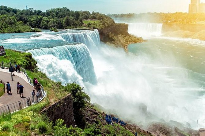 Itinerary will be change in the winter due to certain attraction close for winter.<br>|| Itinerary Highlights:<br><br>1. Visit Watkins Glen in Finger Lake area<br><br>2. Take the Maid of Mist to get closer with Niagara Falls<br><br>3. Enjoy the stunning night view of Niagara Falls<br><br>4. An in-depth tour of Niagara River: Whirlpool Park, Old Fort Niagara, and Great Lake Ontario.<br><br>5. Be on the National ferry cruise of Washington DC<br><br>Promotional information<br>Buy 2 get 1 free