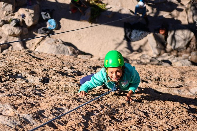 Ground Up Climbing Guides is the leading guide service in Mammoth Lakes. We help new or novice climbers experience the thrill of their first outdoor climb. Families, kids, gym climbers, and everyone in between. More experienced? We've got your covered. Our guests tell our store best: check reviews here on TripAdvisor. <br><br>What is your day like? Meet at trail head, get geared up, we set up the climbing ropes, and off we go.