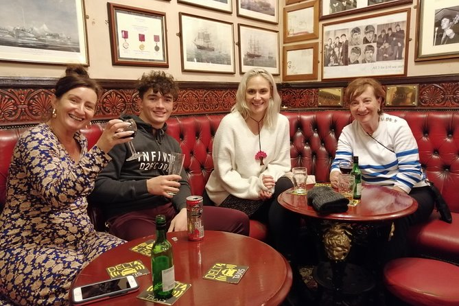 Come and join us onour walking and drinking tour which visits 3 iconic Liverpool public houses where you can sample some of the local brews (where available).<br><br>Come and see all the famous sights in Liverpool including the TWO Cathedrals, A Case History, Chinatown (the oldest one in Europe!), The Cultural Quarter, The Cavern Club, the sight of Liverpool Castle and the Three Graces. Three half pint drinks (or soft drink equivalent) included!<br><br>Ideal for solo travelers!