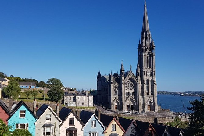 Enjoy extraordinary panoramic views on board our unique open top mini bus which has a retractable glass roof for when the weather is not favorable.<br><br>Go where the big buses can't go and experience the best Cobh has to offer.<br><br>Discover the extraordinary island town of Cobh brought to life by your experienced local driver guide.<br><br>Our Tour Includes:<br> - Amazing Commentary and Stunning Scenery<br> - Luxury Air Conditioned Mini Coach (Small Groups)<br> - A Visit To The Magnificent Cobh Cathedral <br> - A Visit to Cobh Fort/Titanic Memorial Gardens<br> - A Visit to Lusitania Mass Graves and The Old Church Cemetery<br><br>Our bus tour departs right from your ship in Cobh and returns back here again at the end of the tour.<br><br>We are based inCobh right by the port and have over 50 years experience.<br><br>Our driver/guides are all locals and have lots of interesting facts, fascinating history, fun stories, songs and jokes.
