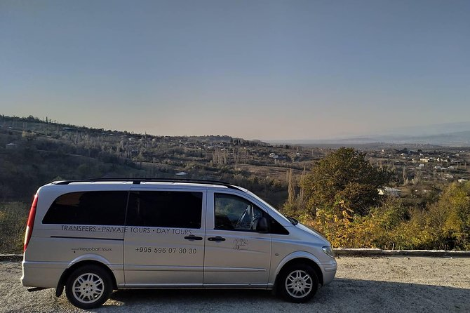 Order a transfer service with Megobari Tours Georgia & you will have a pleasant trip with our experienced guide-driver!