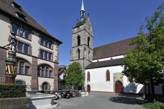 Histórias do centro histórico de Basel, Basilea, Suíça