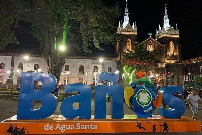 Tours Nocturno - Mirador De Bellavista - Baños De Agua Santa En La Noche Oferta, Baños, ECUADOR