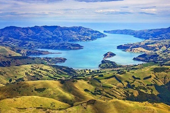 Enjoy a Sightseeing tour to Akaroa through the spectacular scenery surrounding Banks Peninsula, formed following violent eruptions of two ancient volcanoes.  The Akaroa crater nurses the picturesque harbor and Akaroa village. Experience a Nature Cruise with highlights including the rare, NZ native dolphin - the Hector's Dolphin, as well as penguins and other sea birds. And you'll see giant volcanic sea cliffs and hear about Akaroa's fascinating past. The Tour also includes a delightful lunch at Bully Hayes Restaurant.