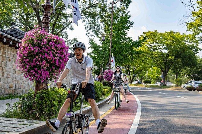 Half-Day Bike Tour in Seoul with Food Tasting, Seul, COREA DEL SUR
