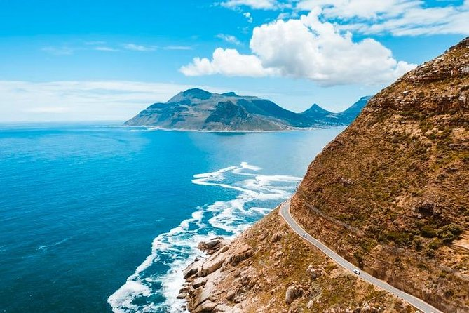 In a nutshell:<br><br>• Enjoy a scenic drive along the famous Chapman's Peak Drive.<br>• Visit the Cape of Good Hope Nature Reserve & Cape Point.<br>• Stroll through Boulders Beach, home to the delightfully cheerful African penguin.<br>• Visit the seaside towns of Simons Town and Kalk Bay.<br>• Taste award winning wine at the highest tasting room in the Constantia valley.<br><br>For groups of 10 or more kindly contact us for special rates.