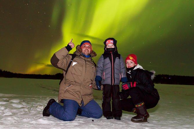 Aurora Hunt+Barbeque+Photos, Rovaniemi, FINLANDIA