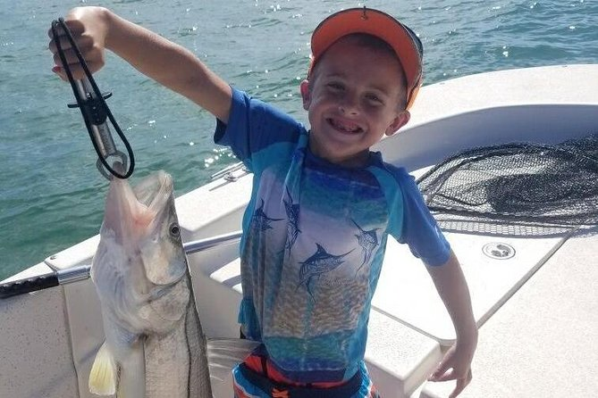Experience the inshore and backwaters of Cape Coral and Caloosahatchee River! A short distant and boat ride to great fishing of many different species. Enjoy fishing one of the most scenic areas, with a unique ecosystem only found locally. Fishing is great all year round, and there is such diversity of the area that even on windy days there are places to fish. Among the Rivers, inside Islands and you can fish the outside barrier islands, and the hundreds of miles of backcountry water shoreline, making this a trip to experience.<br><br>Cape Coral inshore trips primarily target species like Snook, Redfish, Tarpon, Cobia, Snapper, Grouper, variety of shark species and many others.<br><br>Visitors and Travelers that explore Cape Coral also enjoy an adult beverage at Wicked Dolphin Rum Distillery or a fresh treat at the Cape Coral Farmers Market as well as a trip to Tarpon Point Marina.
