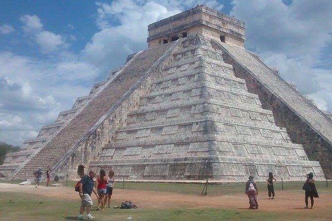Chichen Itza is classified as one of the New Seven Wonders of the World and in 1988 was enlisted as an UNESCO World Heritage Site. The term Chichen Itza means 'the mouth at the well of Itza'. It is believed Itza means 'water magicians', deriving from the Mayan Itz for 'magic' and á for 'water'.