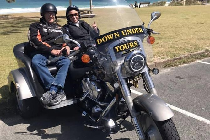Feel the breeze between your knees and enjoy our tours of Perth on the comfort of our Harley trikes and Bikes. An must have experience and one to tick off your bucket list of things to do........
