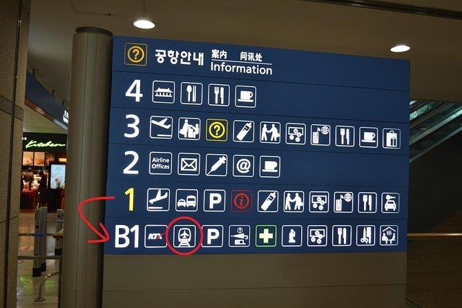 AREX Incheon Airport Express Train One Way Ticket in Seoul, Incheon, COREA DEL SUR
