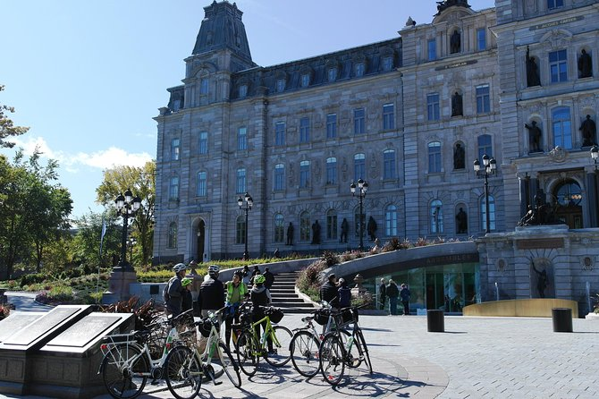 Upper Town Private Bike Tour Quebec City, Quebec, CANADA