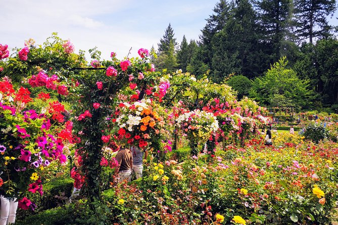 Your Butchart Gardens countryside city highlights private tour, Victoria, CANADA