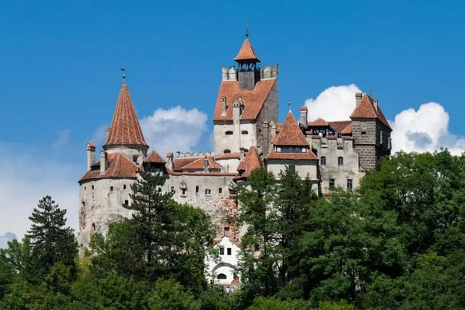 This is a day tour which will take you to Dracula's Castle - surrounded by an aura of mystery and legend and perched high atop a 200-foot-high rock, Bran Castle owes its fame to its imposing towers and turrets as well as to the myth created around Bram Stocker's Dracula.<br><br>Later you will visit Peleș Castle nestled at the foot of the Bucegi Mountains in the picturesque town of Sinaia, Peles Castle is a masterpiece of German new-Renaissance architecture, considered by many one of the most stunning castles in Europe.<br><br>In the afternoon we will visit the medieval city of Brasov where we will take a walking tour to the most important attractions in the city: the Black Church, the Rope Street and the City Hall Square. <br><br>*** Please be informed:<br>This is a shared tour, the tour will be performed only if there are at least FOUR tourists.