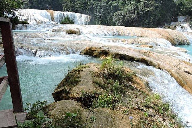Tour to Palenque Archaeological Site, Cascadas de Agua Azul & Misol Ha, San Cristobal de Las Casas, MEXICO