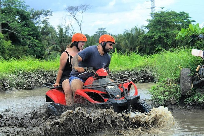 Journey will be start from pick-up AT your hotel in Bali around 07.00-08.00 AM and experience white water rafting adventure in ayung river and RIDE THE ATV QUAD BIKE.<br><br>Here what we will do:<br><br># RIDE THE ATV QUAD BIKE, <br>first Our guide will give instruction to all guest how the quad bike works. And get ready to get dusty & muddy as you drive yourself through 7 different types of authentic Balinese terrain! Enjoy the quad bike adventure through rice fields, river, cave, waterfall, plantations, crossing the jungle, mud tracks, and 2 traditional villages in Payangan! Quads are fully automatic & easy to operate.<br><br># have your lunch<br><br>#. Get instruction from the guide, be briefed on the itinerary and have a safety talk about your upcoming rafting experience. Next, get the life jacket and equipment to get ready for the rafting adventure for 2 hours.<br><br>