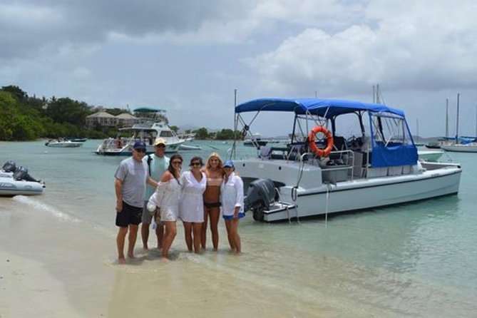 We have power catamarans that offered the very best ride on the seas. All of our boats offer comfy shaded seating on brand new cushions. Updated power for the most fuel efficient boating available.