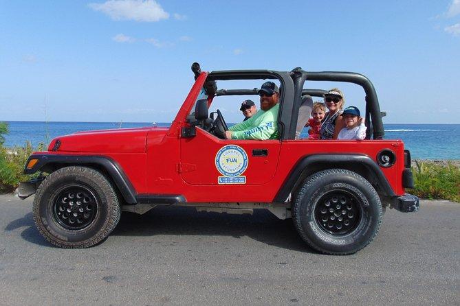 Excursão de Jeep saindo Cozumel e aventura com mergulho, Cozumel, MÉXICO