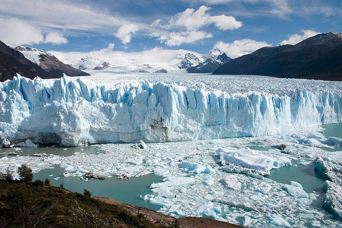 Get up close and personal with the largest glaciers in the El Calafate region on a full-day sightseeing cruise. Sail through Lake Argentino and admire the majestic beauty and size of the Upsala and Spegazzini glaciers. Then, enjoy lunch on the boat while sailing back to El Calafate!
