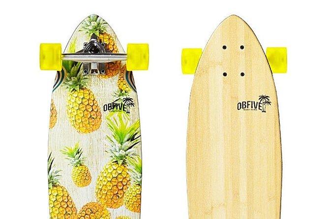 Airlie Beach longboard, penny board, skateboard & scooter hire, Airlie Beach, AUSTRALIA