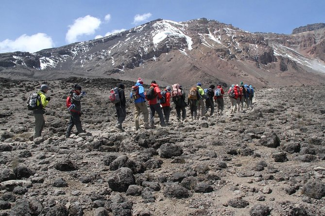 The Rongai Route is the only route that approaches Kilimanjaro from the north, near the Kenyan border. Due to its remote setting, the Rongai Route receives the least traffic of all the routes on Kilimanjaro.Six day trekkers do not spend an additional day at Mawenzi Tarn (4,300 meters) to acclimatise.<br>