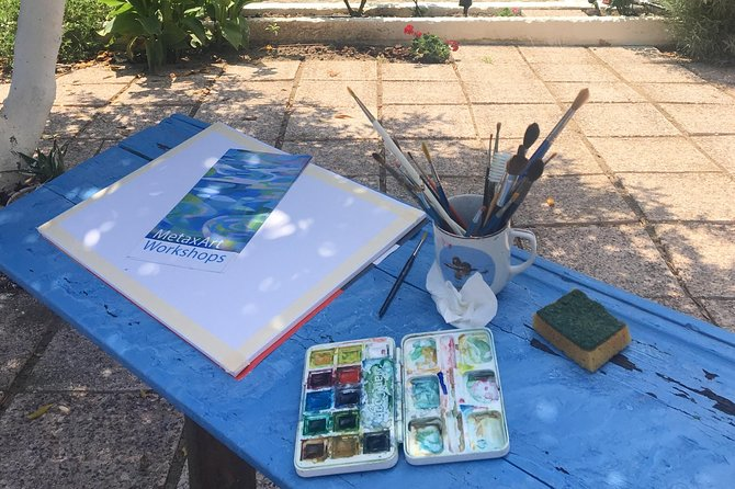 Painting Holidays in Cephalonia, Greece at MetaxArt 7 Days Workshops, Spring, Cefalonia, GRECIA