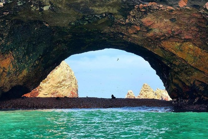 Ballestas Islands and Paracas National Park from the Cruise pier San Martin, Paracas, PERU